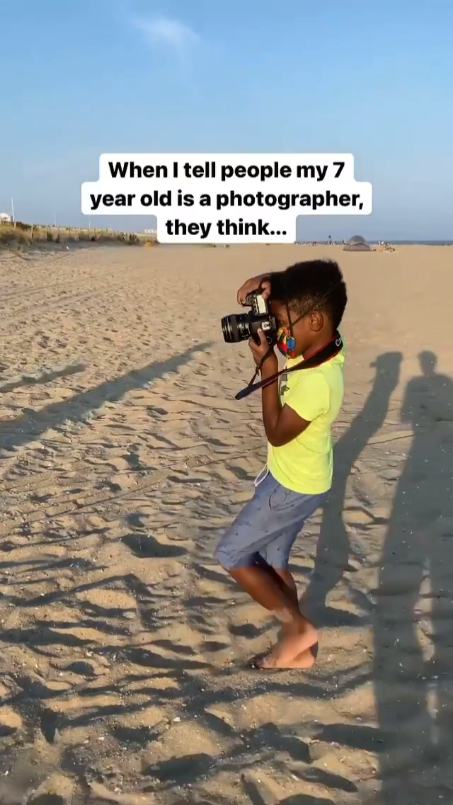 Talented Young Photographer
