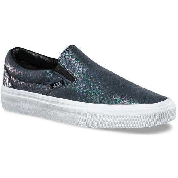 248a888f5b89 Vans Metallic Snake Slip-On ( 60) ❤ liked on Polyvore featuring shoes