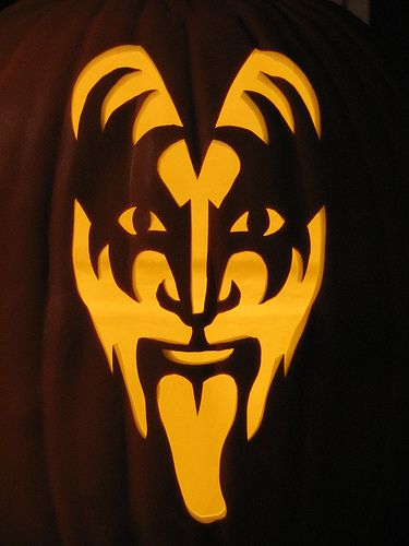 Gene Simmons Pumpkin Carving Pattern | Hereu0027s Some Really Cool Pumpkin  Carvings From PumpkinWayne On Flickr Part 48