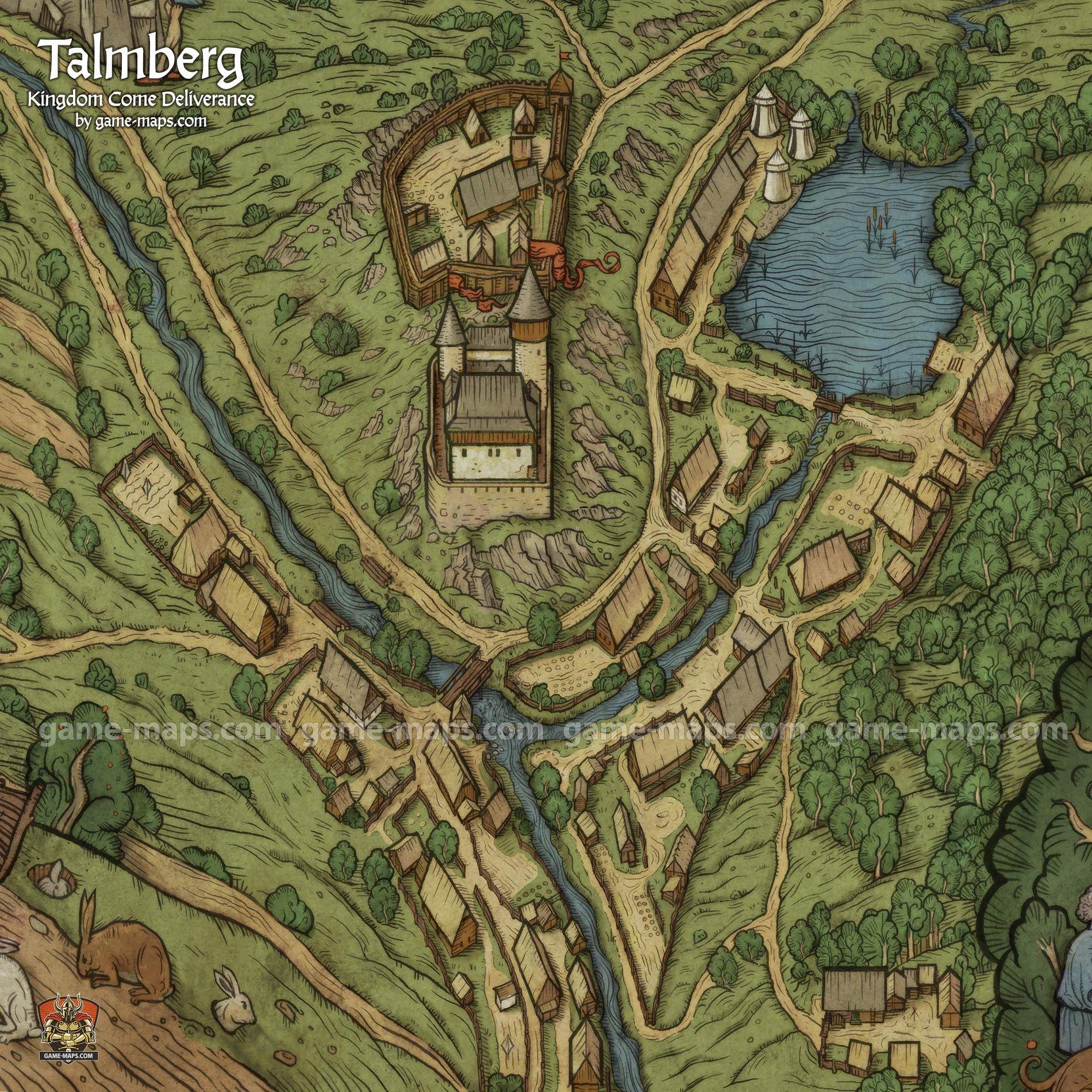 Pin Von Beo Auf Karten In 2020 Rpg Karten Dorf