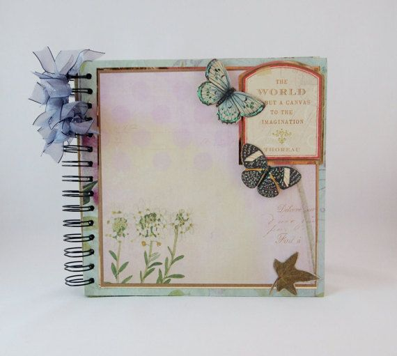 Premade Scrapbook Wedding Album Gift Idea Scrapbook Album Photo
