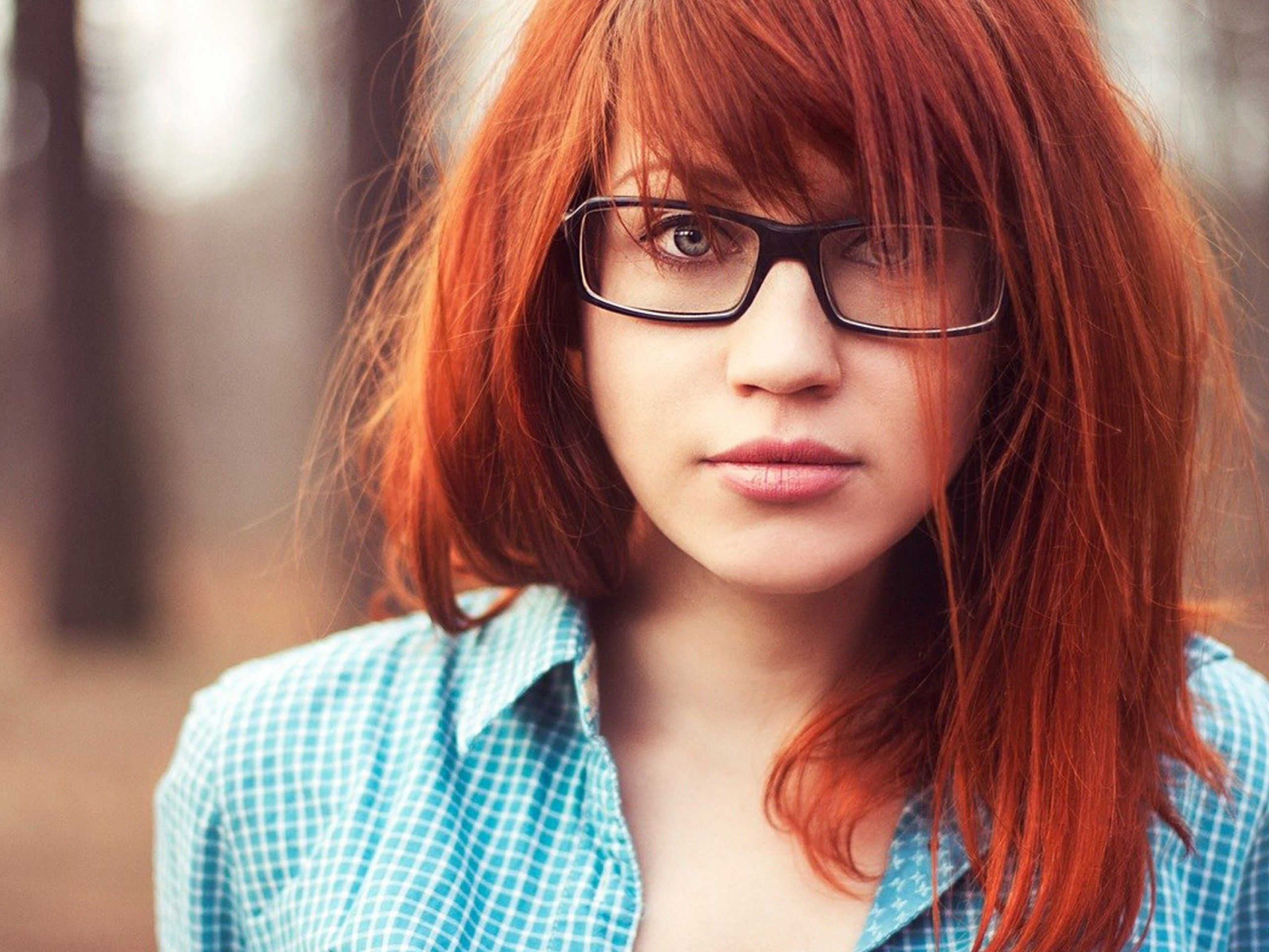 nerd red | dem faces! | girls with glasses, red hair color