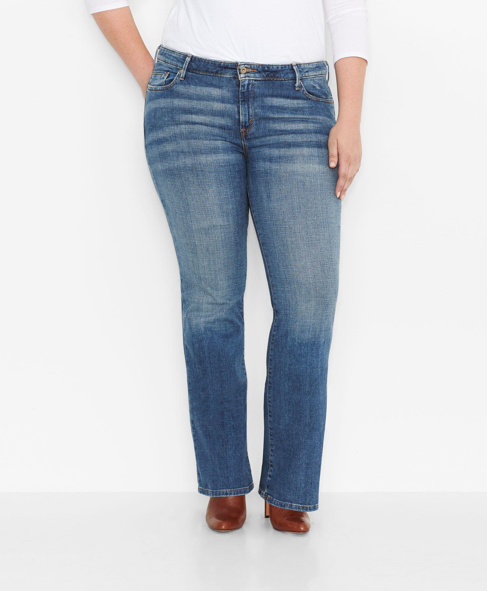 cdbac07cb4b 590™ Fuller Waist Boot Cut Jeans (Plus)