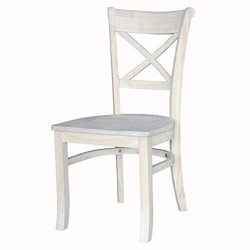 Merveilleux International Concepts Charlotte X Back Chair, Brown