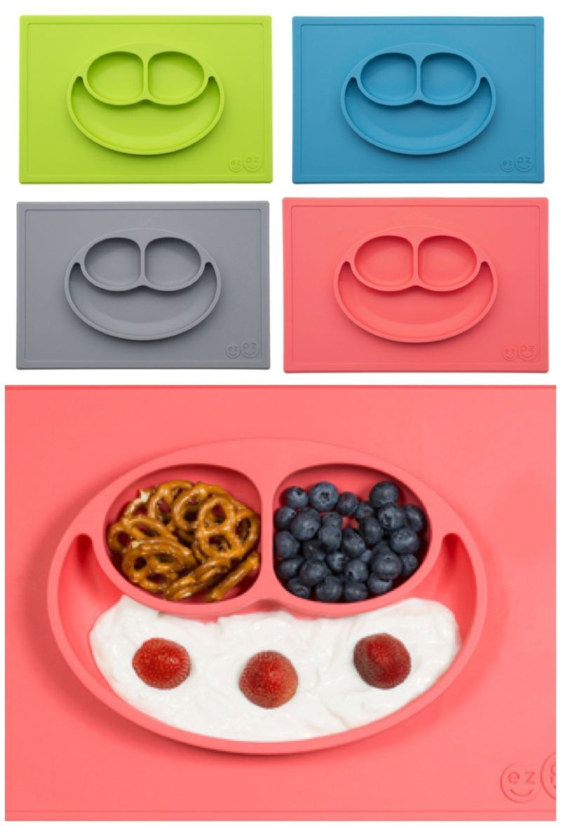 Clever silicone placemats that make mealtime less messy with kids | ezpz