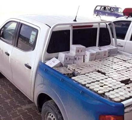 مصادرة مواد غذائية منتهية الصلاحية في أجدابيا Libya Suv Suv Car