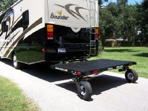 Trailer With Castering Wheels Camping Accessories Rv