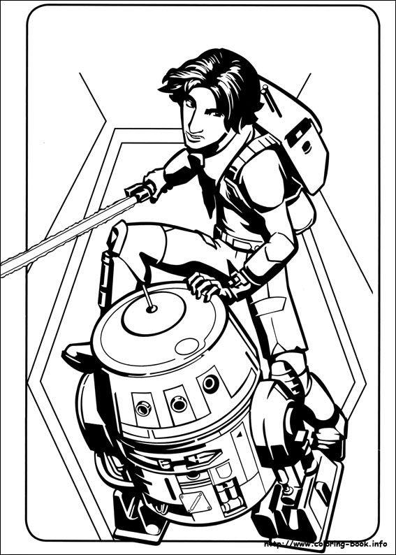 Star Wars Rebels coloring picture | Printables | Pinterest | Star ...