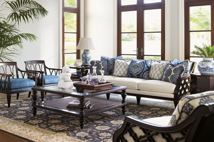 Tommy Bahama Http Www Interiors Furniture Com Colonial Living Room British Colonial Decor Cocktail Tables