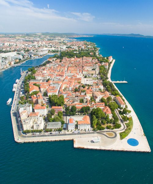 Magnificent View Of Zadar Croatia Love Life Fun Cool Places To Visit European Cruises Zadar