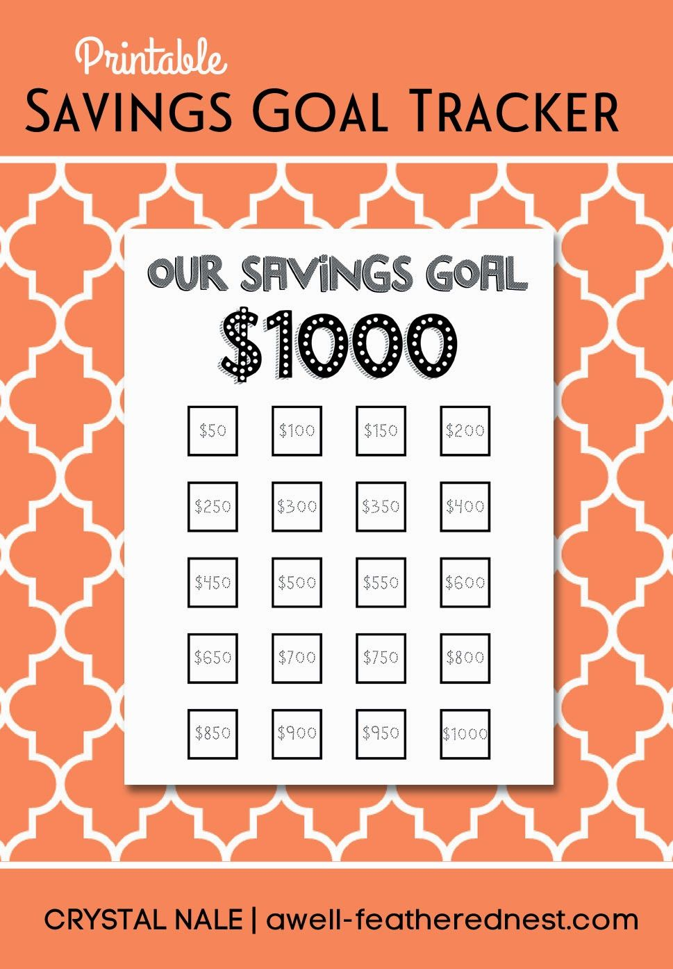A Well Feathered Nest March Pantry Challenge And A Printable Pantry Challenge Budgeting Money Saving Goals