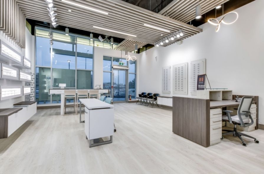 Arc Eyecare In 2020 Optometry Office Store Design Office Design