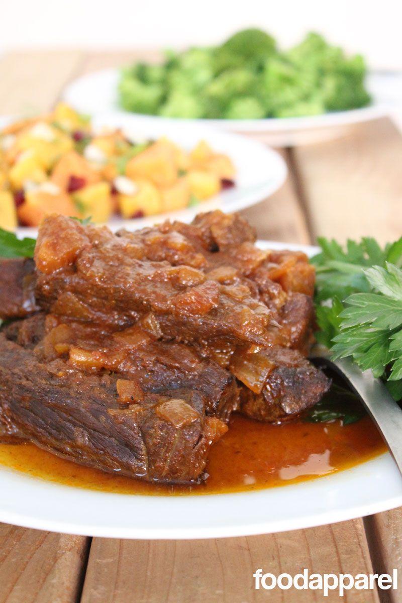 Boneless Crockpot Pork Ribs (or Beef Ribs): Classic Style I Foodapparel.com