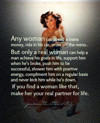 What u look for in a man