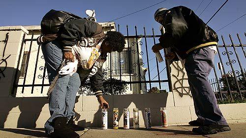 Three Men Shot At Vigil For Gang Member Updated Gang Gang Member Inglewood