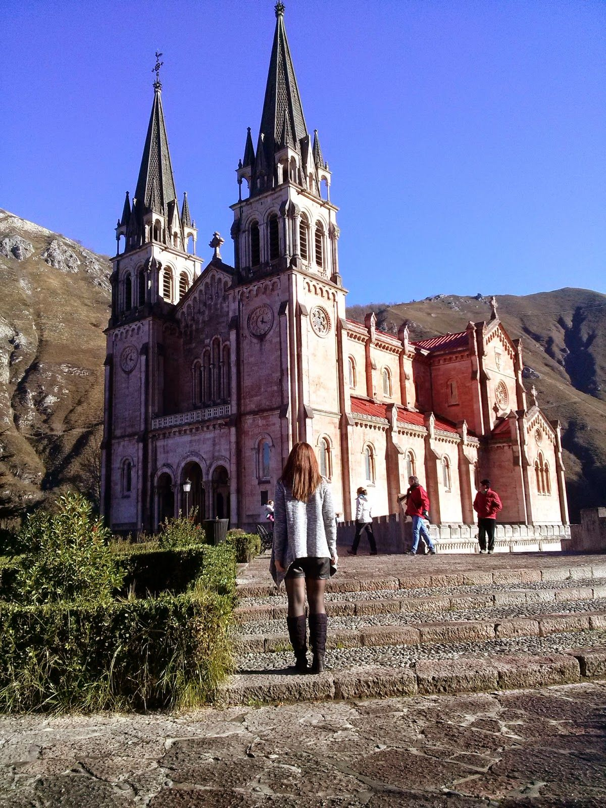 Covadonga Asturias basilica