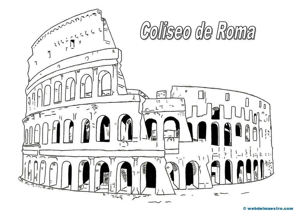Coliseo De Roma Roma Roma Para Niños Coliseo Romano Romanos