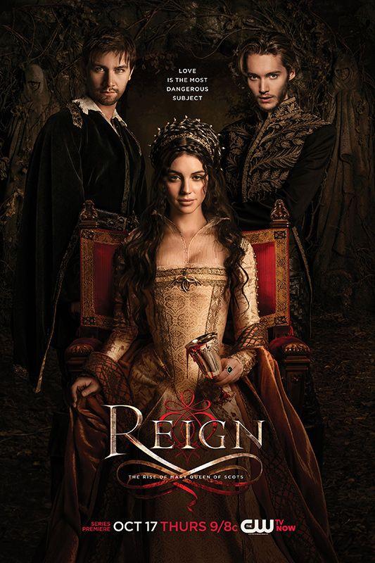 Reign. Contagem regressiva para 3a temporada!!!!