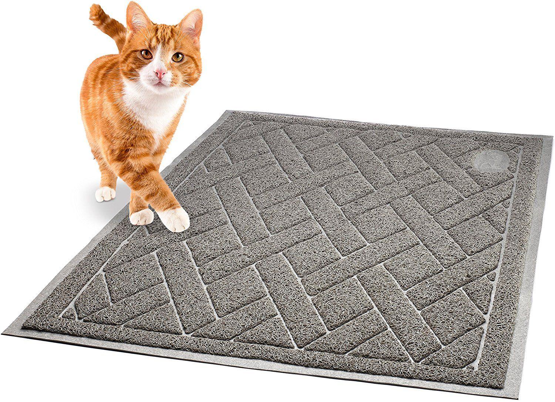 Amazon Com Pawkin Phthalate Free Cat Litter Mat Patented