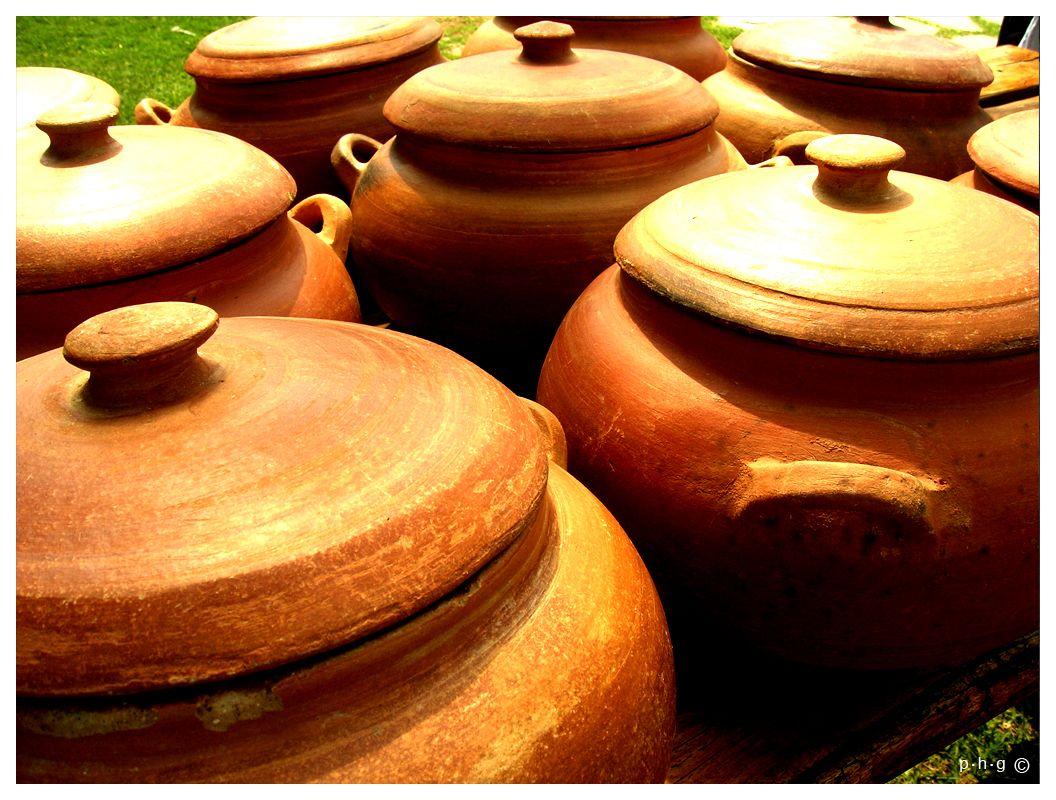 Ollas de barro ollas de barro barro y cer mica - Cazuelas de cobre ...