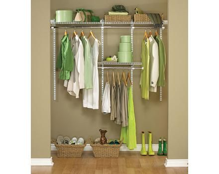 Rubbermaid White Closet System 3 6 Ft Canadian Tire