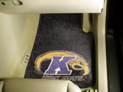 NCAA - Car Mats 2 Piece Front - Kent State University.  Buy it @ ReadyGolf.com