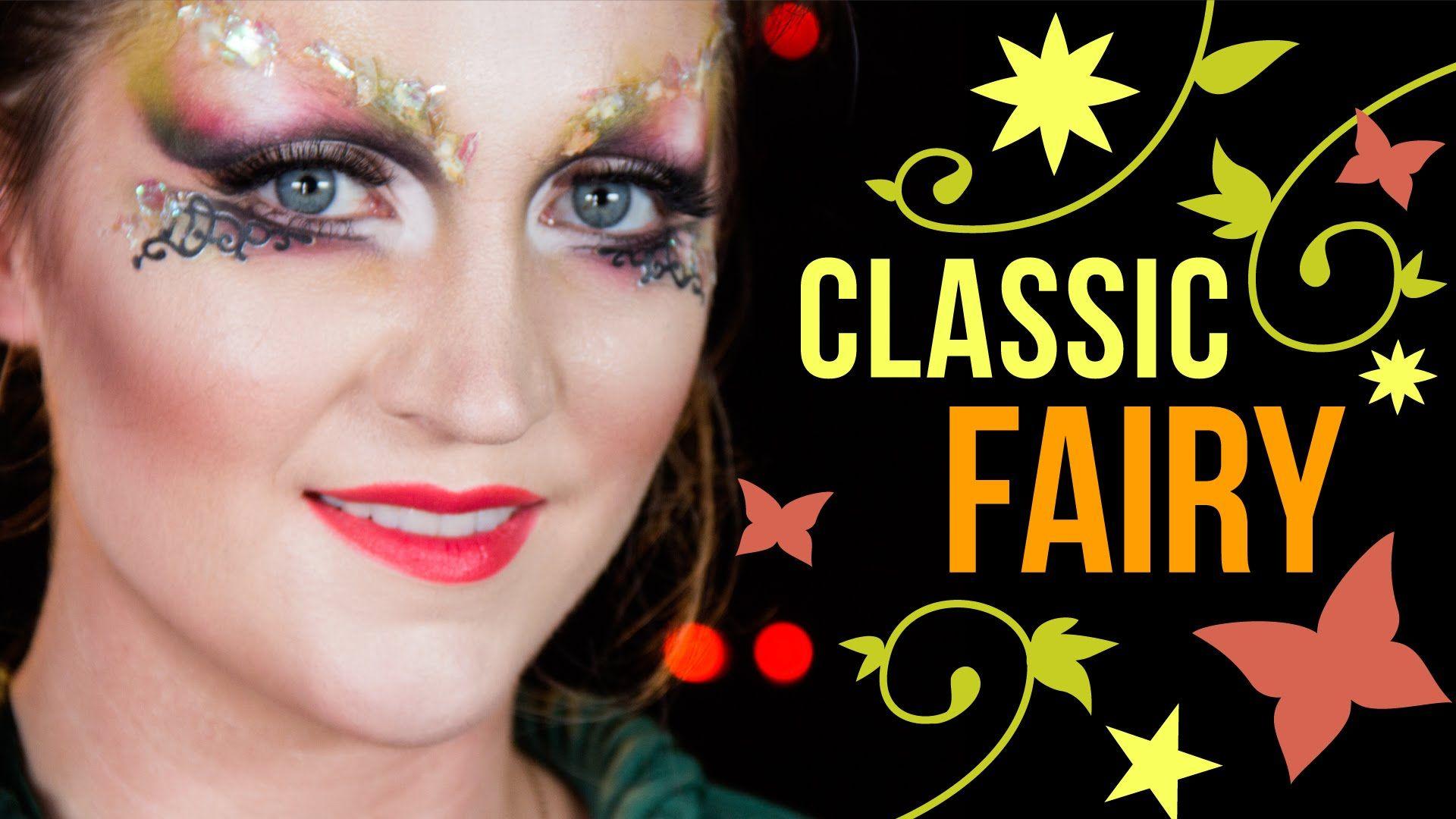 Classic fairy makeup tutorial halloween transformations classic fairy makeup tutorial halloween transformations baditri Image collections