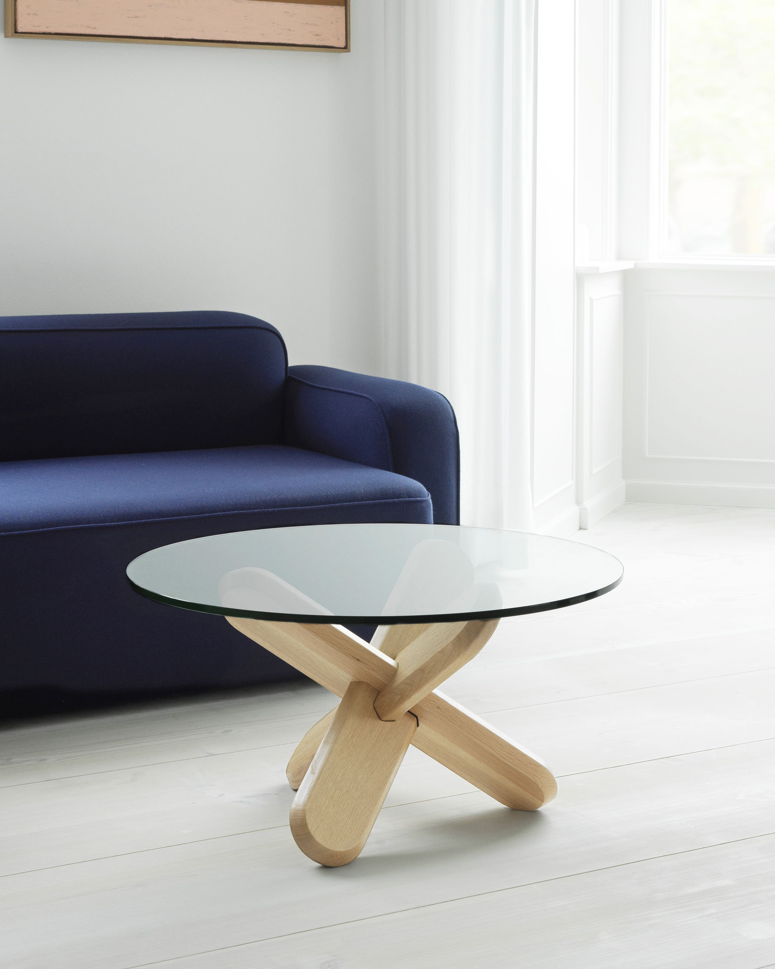 Ding Table A Scuptural Coffee Table In Transparent Glass And Oak Coffee Table Copenhagen Furniture Table [ 3125 x 2500 Pixel ]