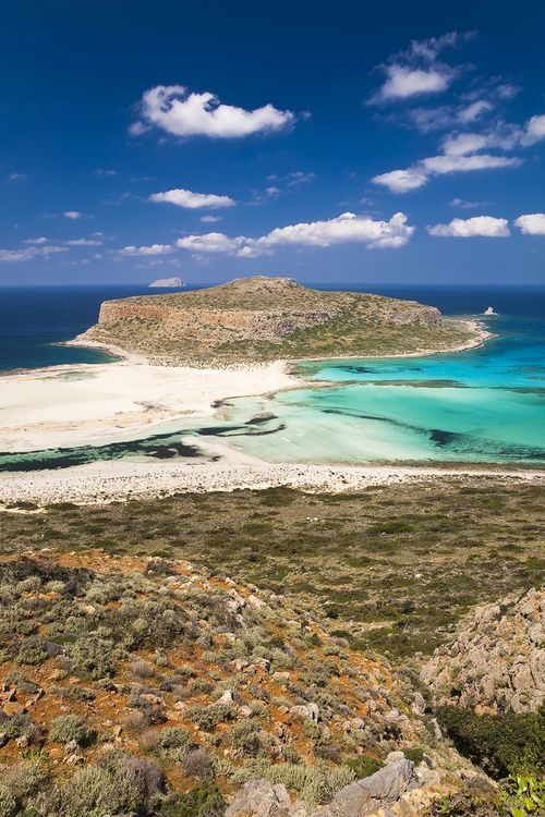 Balos, Crete; one of the most beautiful places I've been