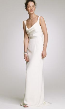 Used J Crew Wedding Dress 17403