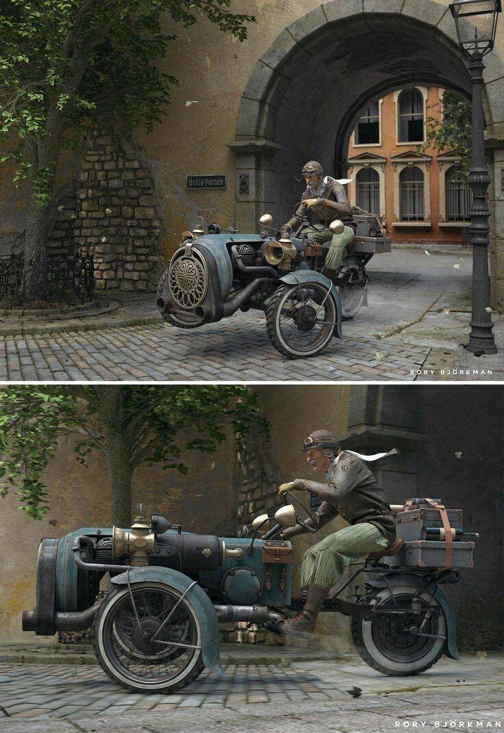 Steampunk Vehicles: Photo