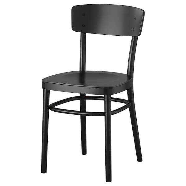 Idolf Chair Black Round Back Dining Chairs Ikea Dining Chair Black Dining Chairs
