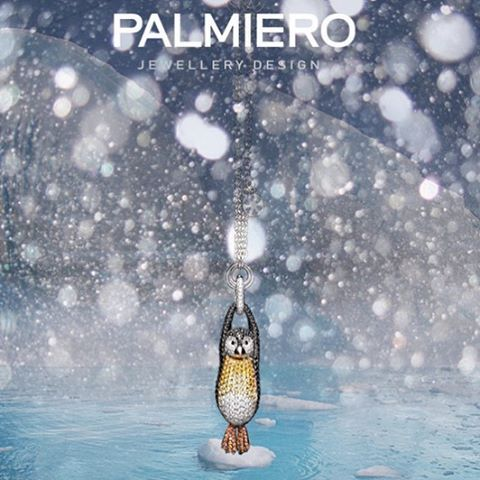 A playful gift to make your holidays sparkling. PALMIERO Penguin from Cuccioli…