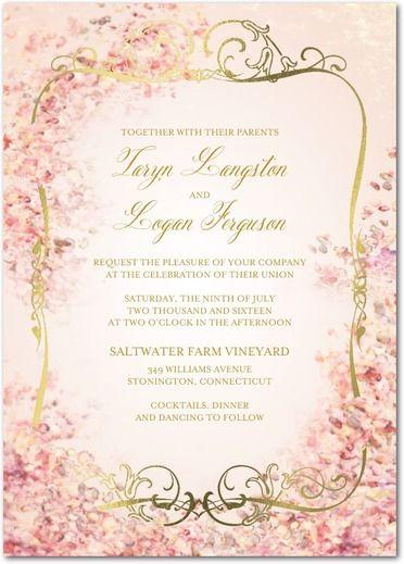 Perfect Paradise Signature Foil Wedding Invitations Claire Pettibone Lightest Turquoise Blue Front