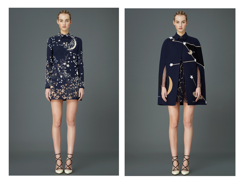 Cosmo by Valentino: fazer a capa com feltro azul e couro dourado