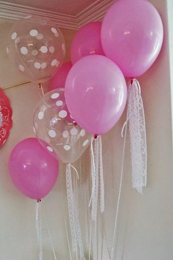 Scrap Memory: Balões Poá, Balões Cristal/Transparentes e Lisos