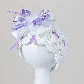 Crochet cotton hat
