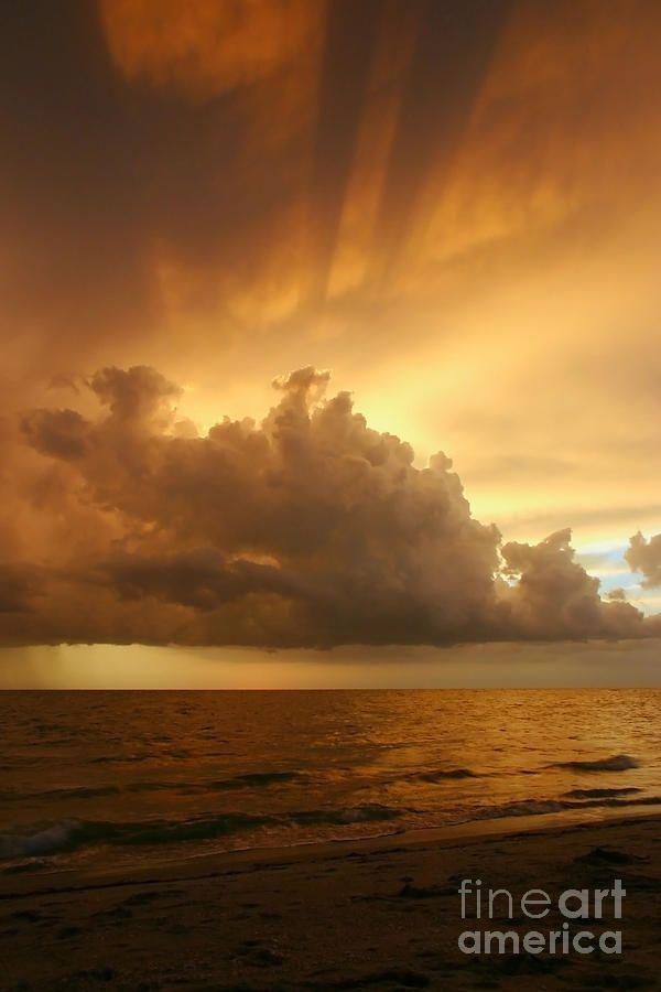 ✯ Stormy Gulf Coast Sunset