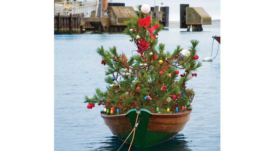 It S Official These Are The Most Coastal Christmas Trees In America Coastal Christmas Tree Beach Christmas Decorations Coastal Christmas
