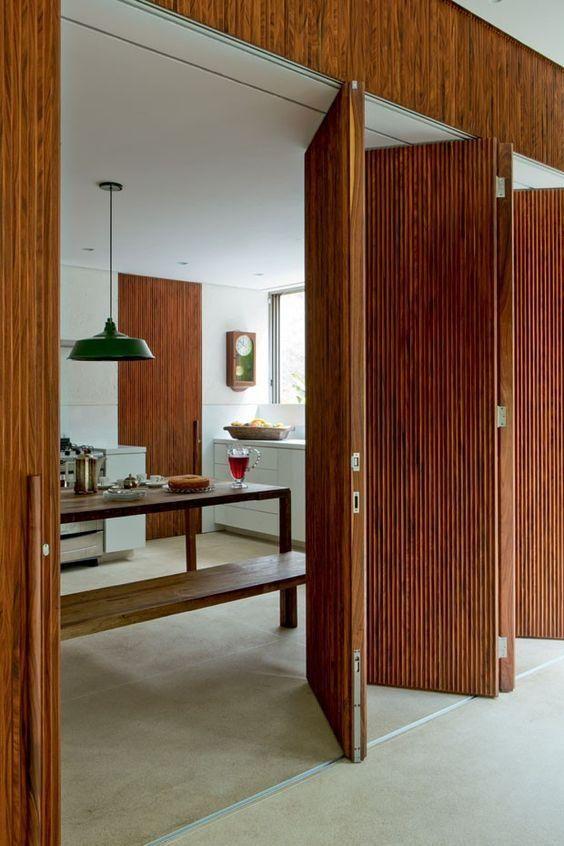 Tipos de portas interiores