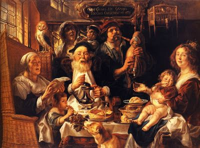 TICMUSart: As the Old Sang, So the young Pipe - Jacob Jordaens (1640) (I.M.)