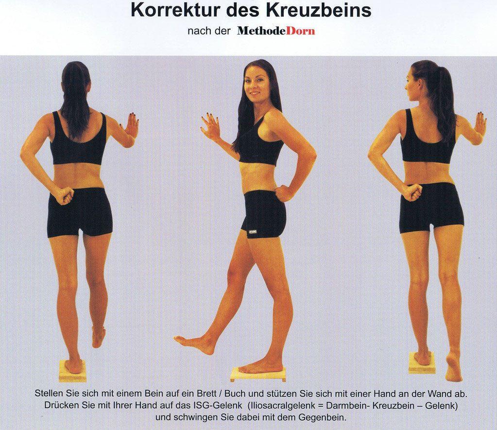 Korrektur des Kreuzbeins nach der Methode Dorn | Fitness - Sport ...