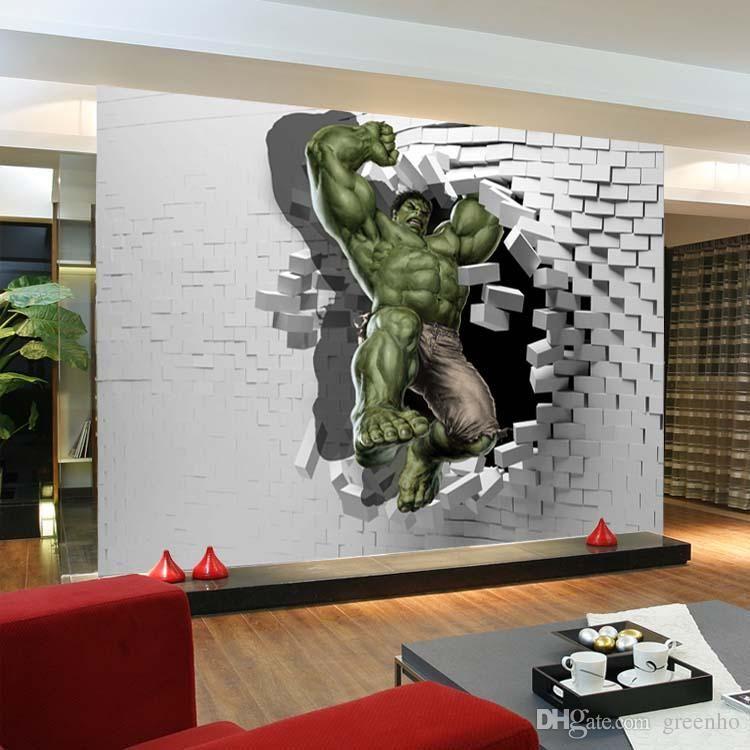 Best 3D Avengers Photo Wallpaper Custom Hulk Wallpaper Unique 400 x 300