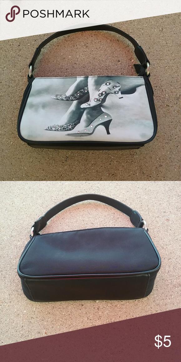 0ae5942031c Black Handbag Cute handbag with som rhinestone accents 10