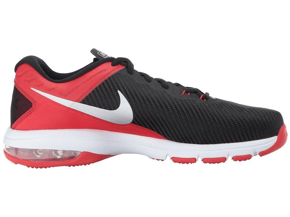 Nike Air Max Full Ride TR Men's Cross Training Shoes University Red/Metallic  Silver/