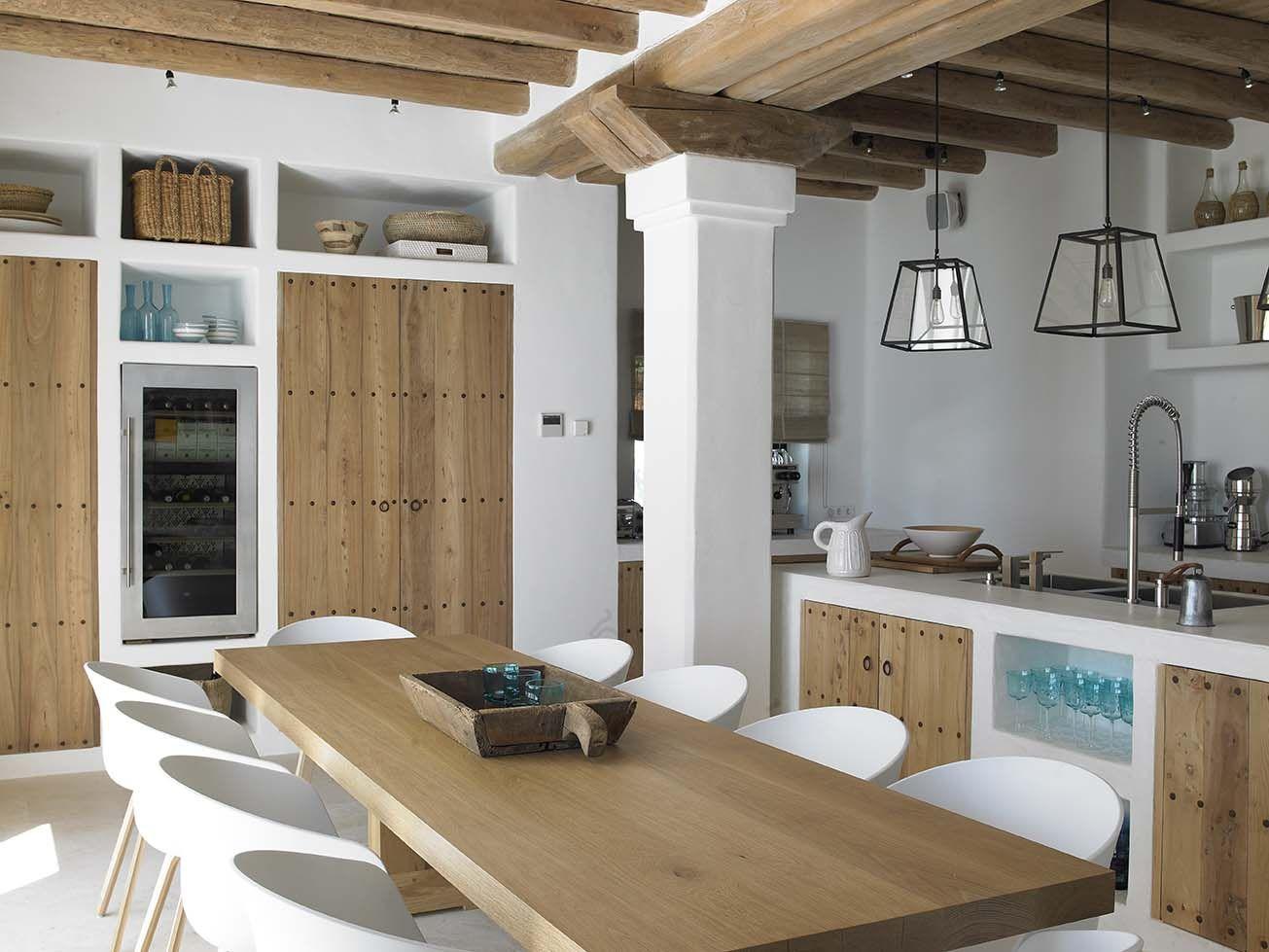 open kitchen facing the pool with glass door design rh pinterest com