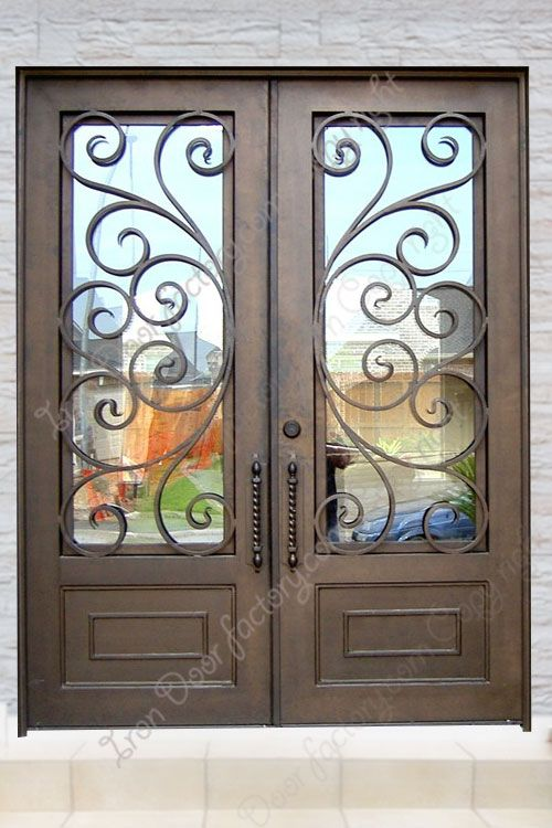 Ds1014 Exterior Iron Doors Wrought Iron Front Door Iron Front Door Wrought Iron Entry Doors