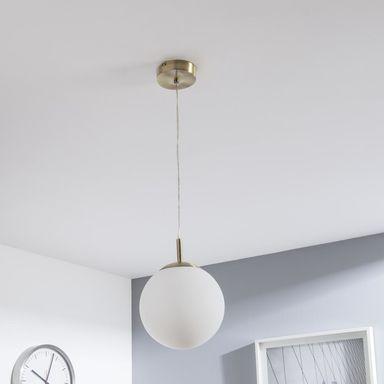 Lampa Wiszaca Celestine Zloto Biala E27 Inspire Zyrandole Lampy Wiszace I Sufitowe W Atrakcyjnej Cenie W Sklepach Leroy Pendant Light Ceiling Lights Lamp