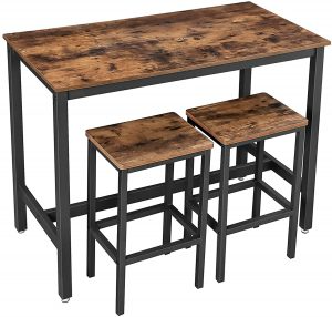 The 10 Bar Tables Best For Home Bars And Pubs In 2021 Economical Chef In 2021 Bar Table Sets Breakfast Bar Table Bar Table And Stools