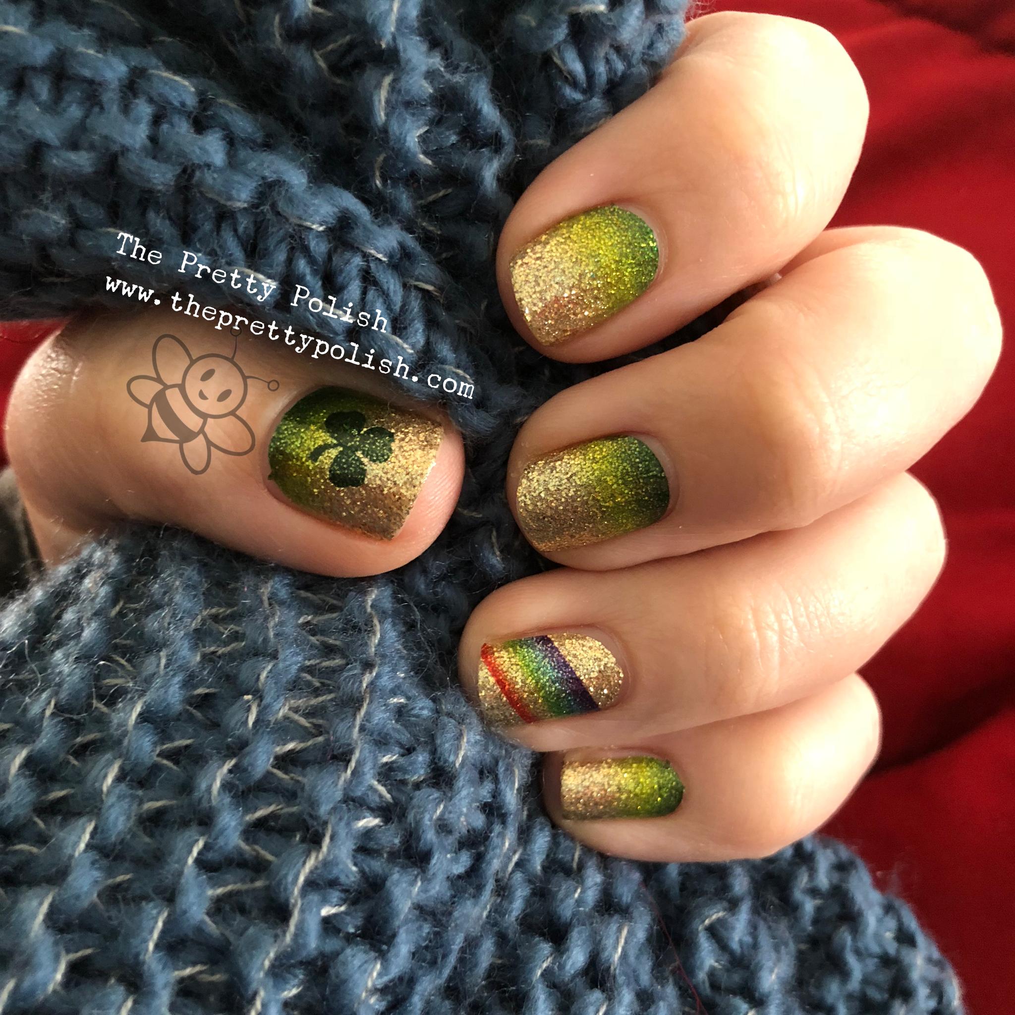 Irish Luck, Saint Patrick\'s day nail polish, Color Street nail ...